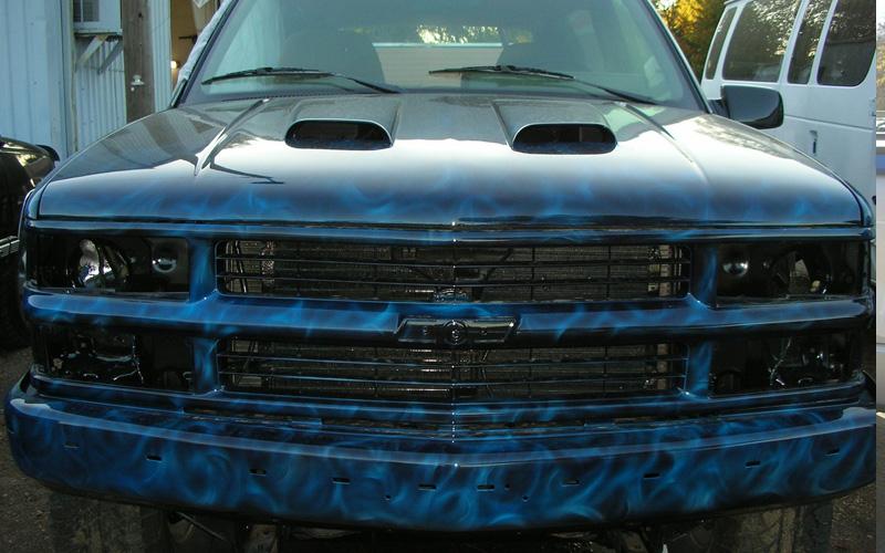 Custom Paint Design Auto Car Truck Forest Lake Mn